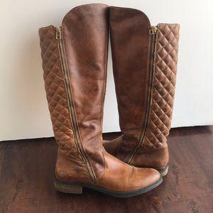 Steve Madden Cognac Boots